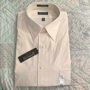 Arrow Satin Twill Long-Sleeve Dress Shirt